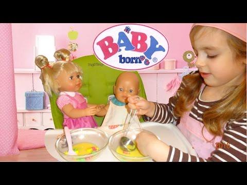 Как сделать еду для кукол беби бон своими руками видео
