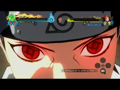 Naruto Shippuden Ultimate Ninja Storm Revolution Shisui vs Kushina Gameplay
