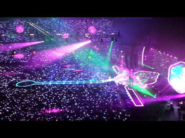 Coldplay a sky full of stars  Amsterdam Arena 24-06-2016