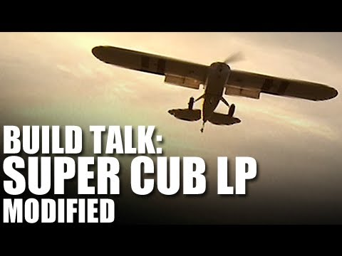 Flite Test - Super Cub LP Mod - Build Talk