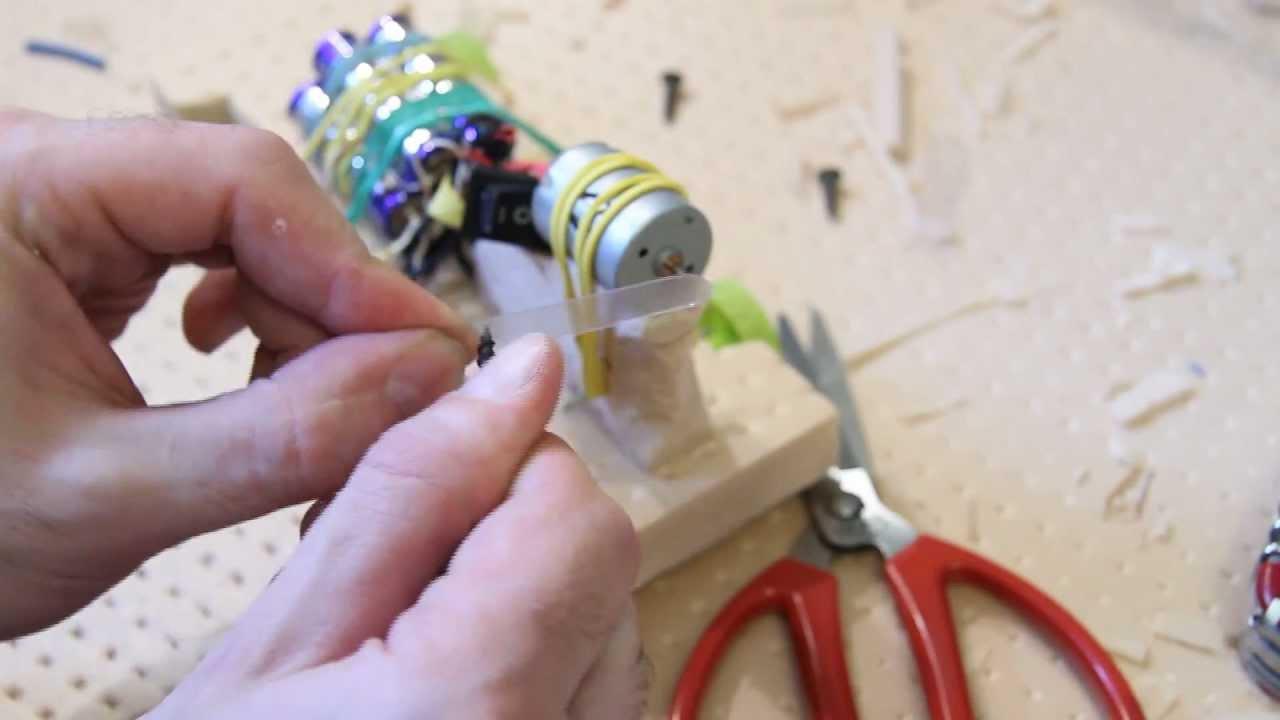Как сделать электрических игрушек