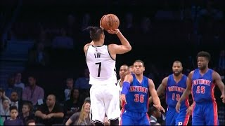 Jeremy Lin ( 21 PTS ) 2016 Preseason: Game 1 Vs Pistons