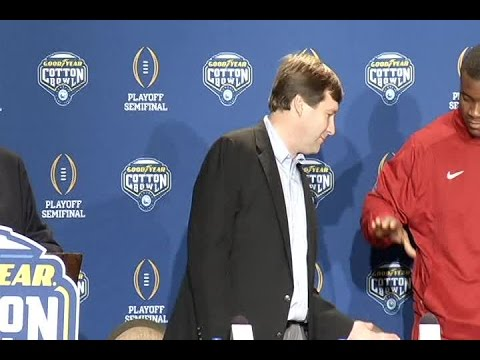 Alabama Defense Meets with Media