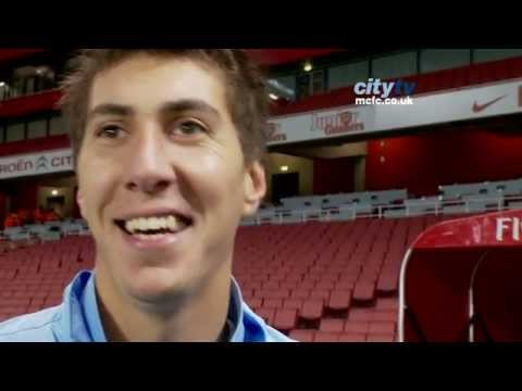 Carling Cup - Arsenal 0-1 City - Costel Pantilimon Post Match Reaction