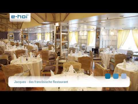Die MS Marina - Top-Komfort und kulinarische Erlebnisse genießen
