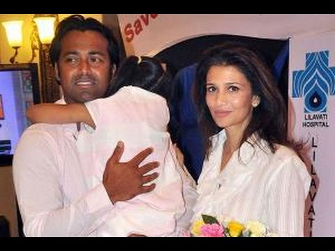 Leander Paes Rhea Pillai Spend Time Together In London - BT