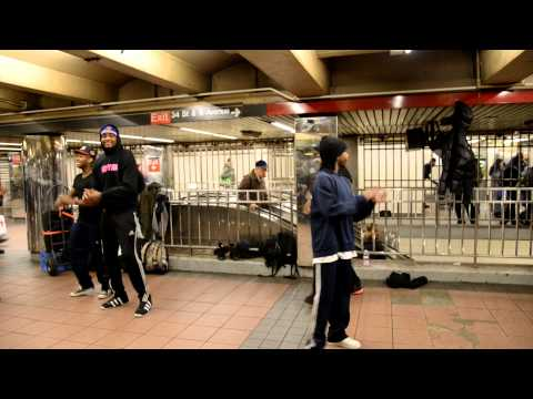 breakdance subway new york 13-02-2013