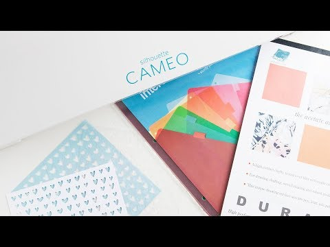 How to Make Stencils with Silhouette Cameo