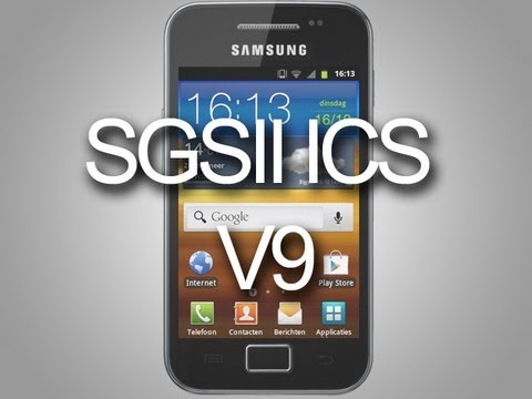 Galaxy S2 ICS V9 on Samsung Galaxy Ace