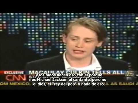 MJsANGELS - LARRY KING ENTREVISTA A MACAULAY CULKIN POR EL JUICIO CONTRA MICHAEL JACKSON 27/05/2004