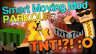 Minecraft Smart Moving _�od: TNT FUN TIMES w/ Edge and Simon