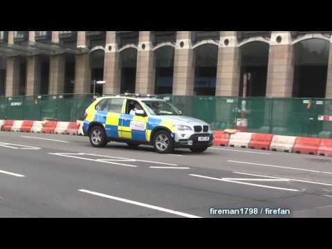 2x Police Car City of London Police + Unmarked Police Car