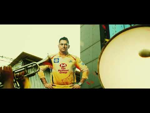 CSK THEME SONG AND ANTHEM SONG 2018 FULL HD  IN HINDI