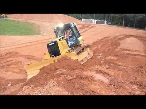 New Cat D3K2 LGP Dozer Grading