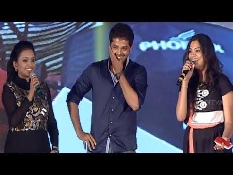 Nandu & Geetha Madhuri Fun On Love @ Lovers Movie Audio Launch