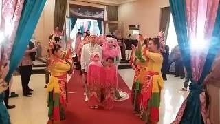 Tari Sirih Kuning Pengiring Pengantin @Wisma Bhayangkari Blok-M