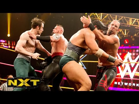 Nxt Tag Team Championship No. 1 Contenders' Battle Royal: Wwe Nxt, Oct. 30, 2014 video