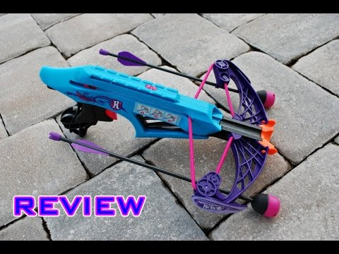 [REVIEW] Nerf Rebelle Courage Crossbow Unboxing. Review. & Firing Test
