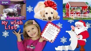 Christmas wishlist 2018 kids ! Top toys kids want for Christmas! Audrey's Christmas wishlist!