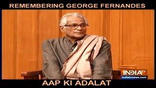 Aap Ki Adalat: George Fernandes on defending murder accused Shankaracharya