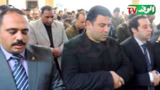 مدير امن كفر الشيخ يؤدي صلاة الغائب علي أرواح شهداء الشرطة