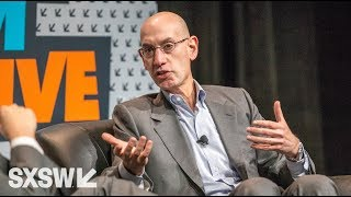 Courtside with NBA Commissioner Adam Silver | SXSW Convergence 2016