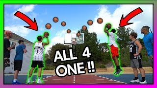 "2HYPE BASKETBALL ""ALL FOR ONE"" TEAM SHOOTING CHALLENGE !!"