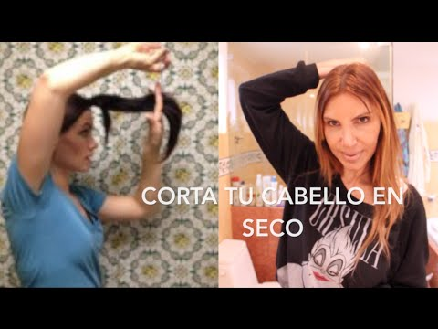Corta Tu MISMO Tu Cabello en SECO / How to DRY CUT Your Hair