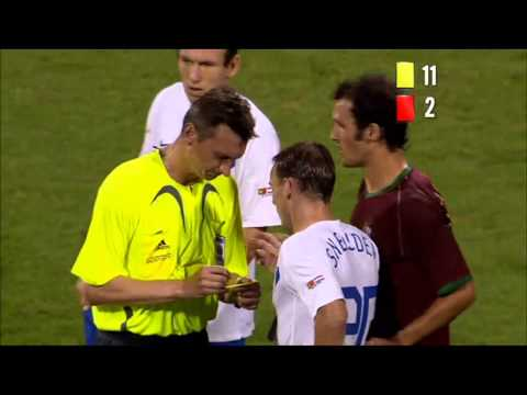 Four Red Cards And 16 Yellow Cards in One Single Game