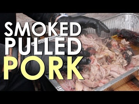 How to Smoke Pulled Pork   The Art of Manliness