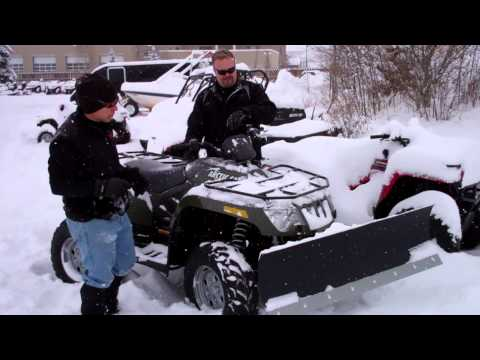2013 Arctic Cat ATV 500 4x4 EFI with Snow Plow