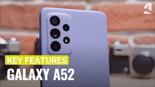 Samsung Galaxy A52 hands-on & key features