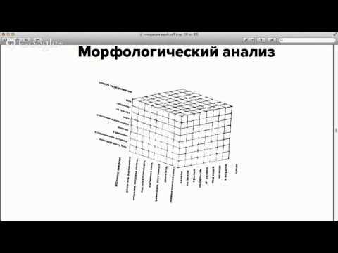 Как придумывать идеи: техника морфологический анализ