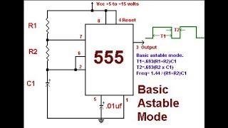 NE555 Astable modu