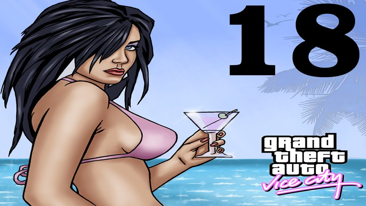 ColeTrainxx Plays: Grand Theft Auto Vice City: Episode 18: Cross Dressing K