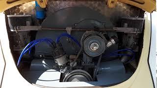 VW Beetle Engine Running