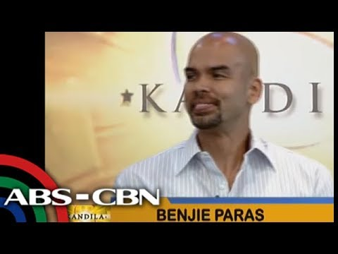 Benjie Paras lands on