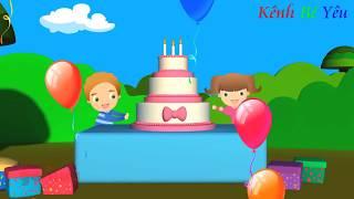 Liên Khúc Chúc Mừng Sinh Nhật Hay Nhất ♫ Happy Birthday To You ♫ Kênh Bé Yêu