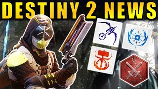 Destiny 2 News: 3rd SUBCLASSES COMING? New PvP Gameplay, Iron Temple, Vaulting Mechanic, & More!