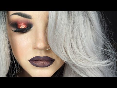 Smokey Copper Beauty Makeup Tutorial