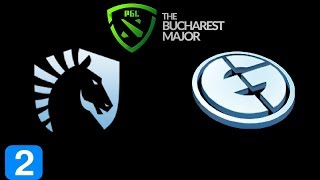 Liquid vs EG Game 2  PGL BUCHAREST MAJOR 2018 Highlights Dota 2