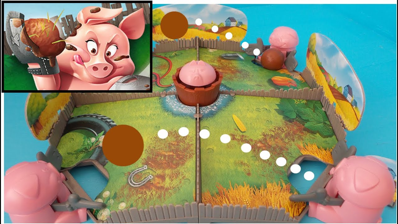Pig Board Game Board Game Pig Ball