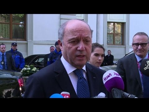 France's foreign minister joins Iran talks