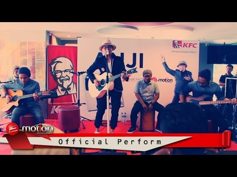 Anji - Jerawat Rindu (Perform at KFC Tugu Tani)