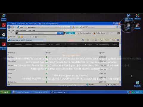 Avira Antivirus with Panda Security Toolbar - Combination test