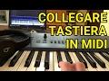 COME COLLEGARE LA TASTIERA AL COMPUTER (Via MIDI) thumbnail