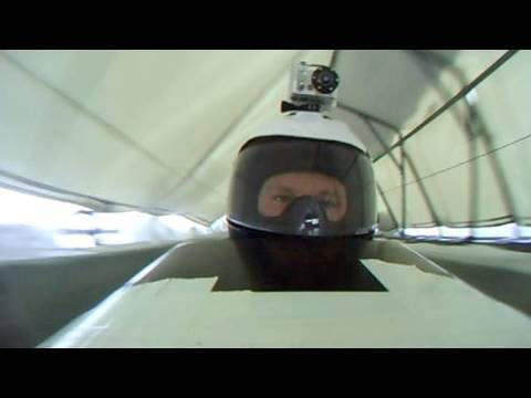Bobsled through the eyes of driver Steven Holcomb.