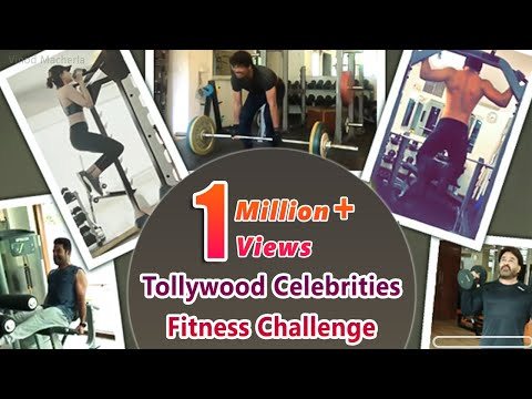 Tollywood Celebrities NTR RamCharan Nag Sam Chaitu & others  Fitness Challenge Humfittohindiafit