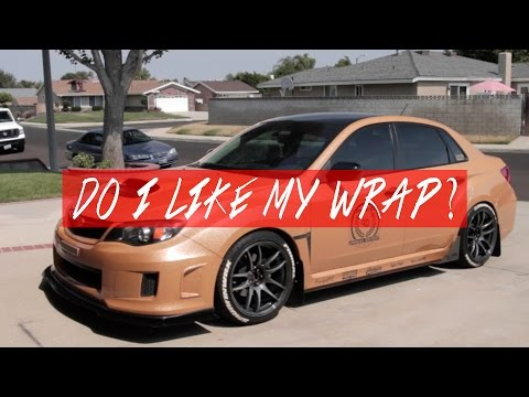 How do I really feel about my Gold WRX Wrap