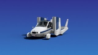 ► Flying Car - Terrafugia Transition - Animation
